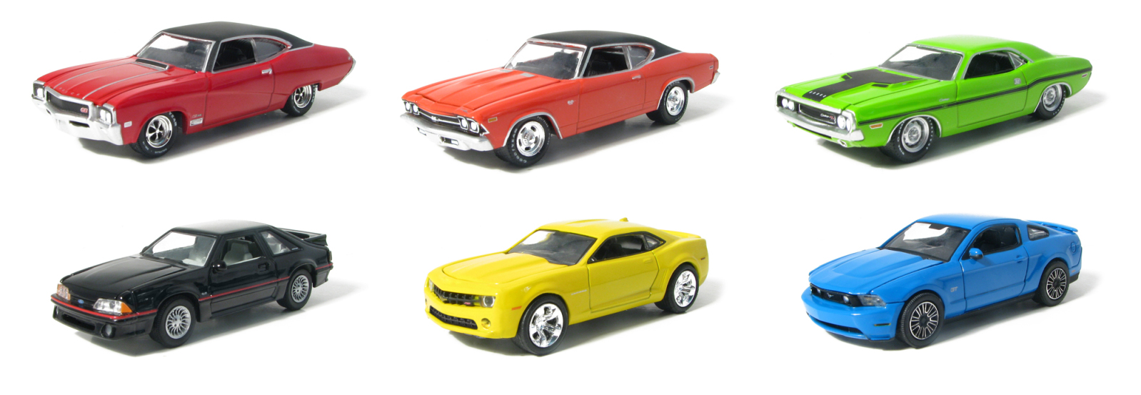 Greenlight Releases New Muscle Car Series Hall S Guide For Hot