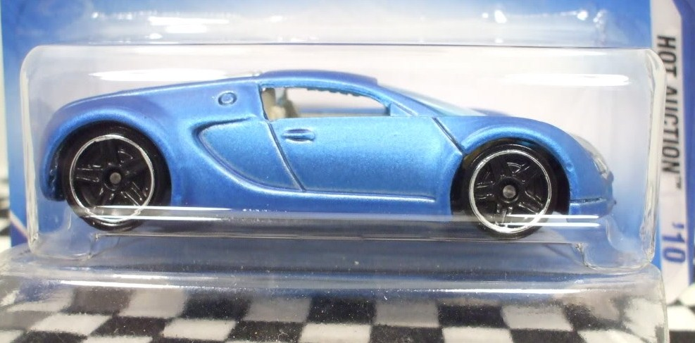 diecast spotlight 2010 hot auction bugatti veyron hall 39 s guide for hot wheels collectors. Black Bedroom Furniture Sets. Home Design Ideas